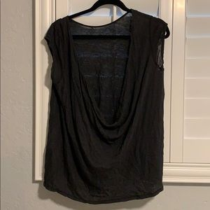 Free People Open Back Top